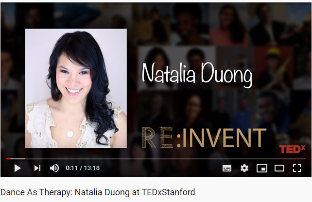 Natalia Duong TEDx Talk Dance as Therapy